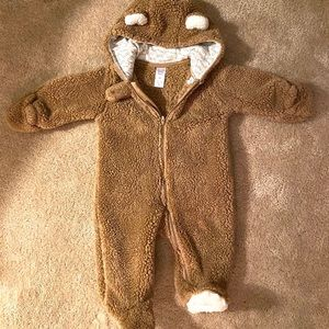 Infant fleece snowsuit- just one you by Carter's